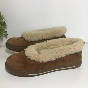 Ugg Suede Leather Slippers size 7